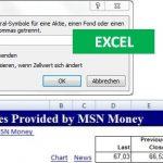 ZW-Formel in Excel