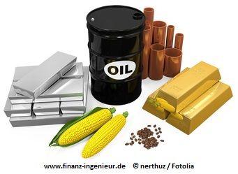 Rohstoff-ETF zur Diversifikation