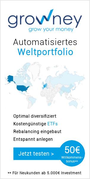 growney - Automatisiertes Weltportfolio mit ETFs